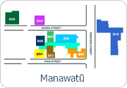 Palmerston North Interactive Campus Map